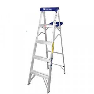 Escalera De Tijera Aluminio 6 Escalones(2.13m) Tc3209