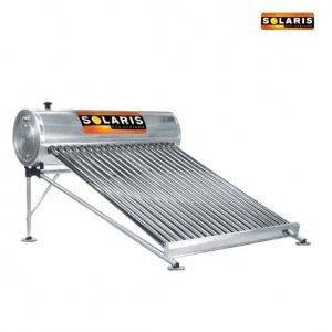 Calentador Presurizado Inox. 15 Tubos Sol-5815hp Solaris