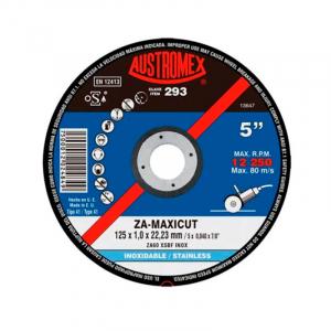 "Disco corte metal 5"" Maxicut #293 Austromex"