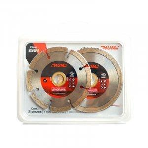 """Kit de discos Diamante #2998 4""""(INCL.#2552 ,#2553) AUSTROMEX"""